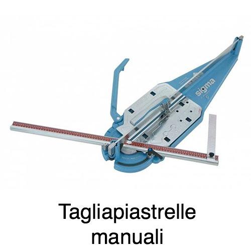tagliapiastrelle sigma manuale