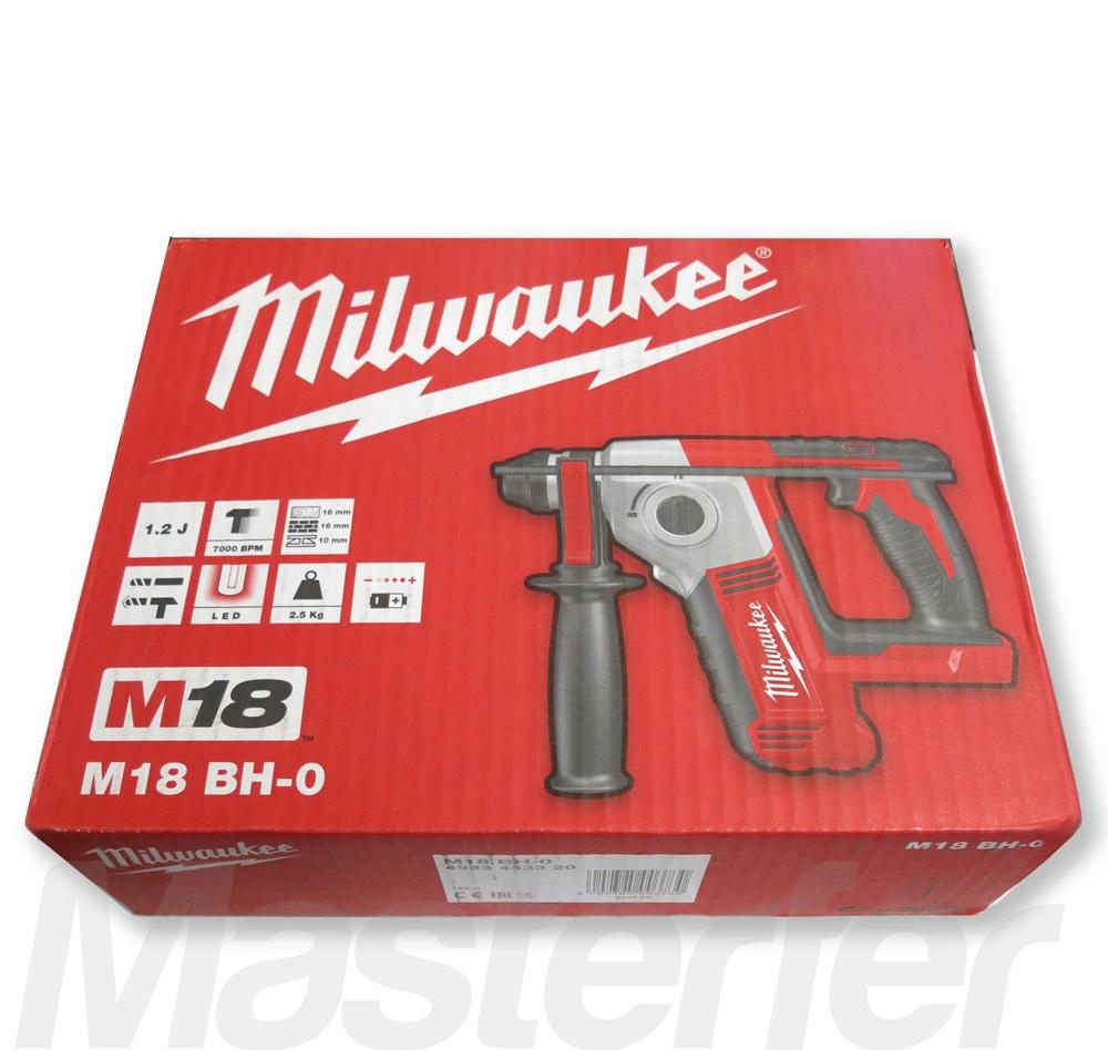 trapano tassellatore a batteria milwaukee m18bh-0