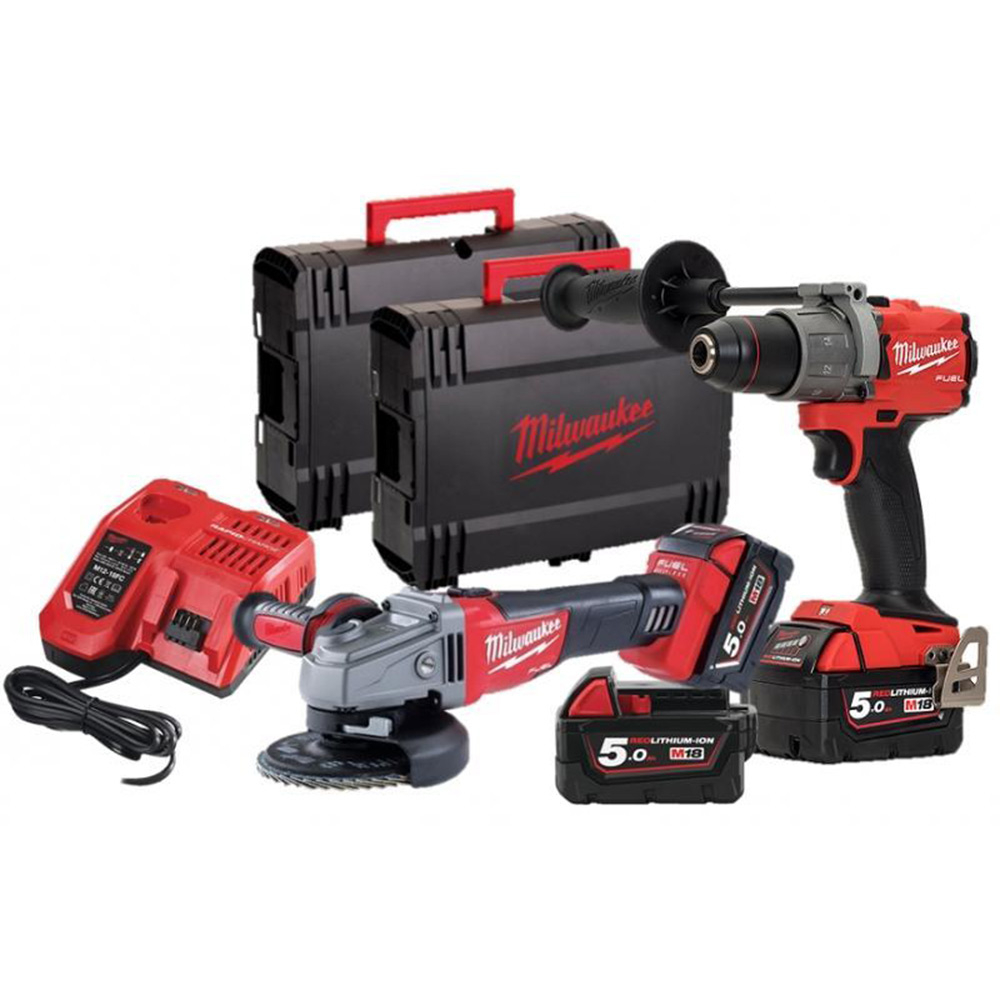 kit milwaukee m18fpp2d2503x