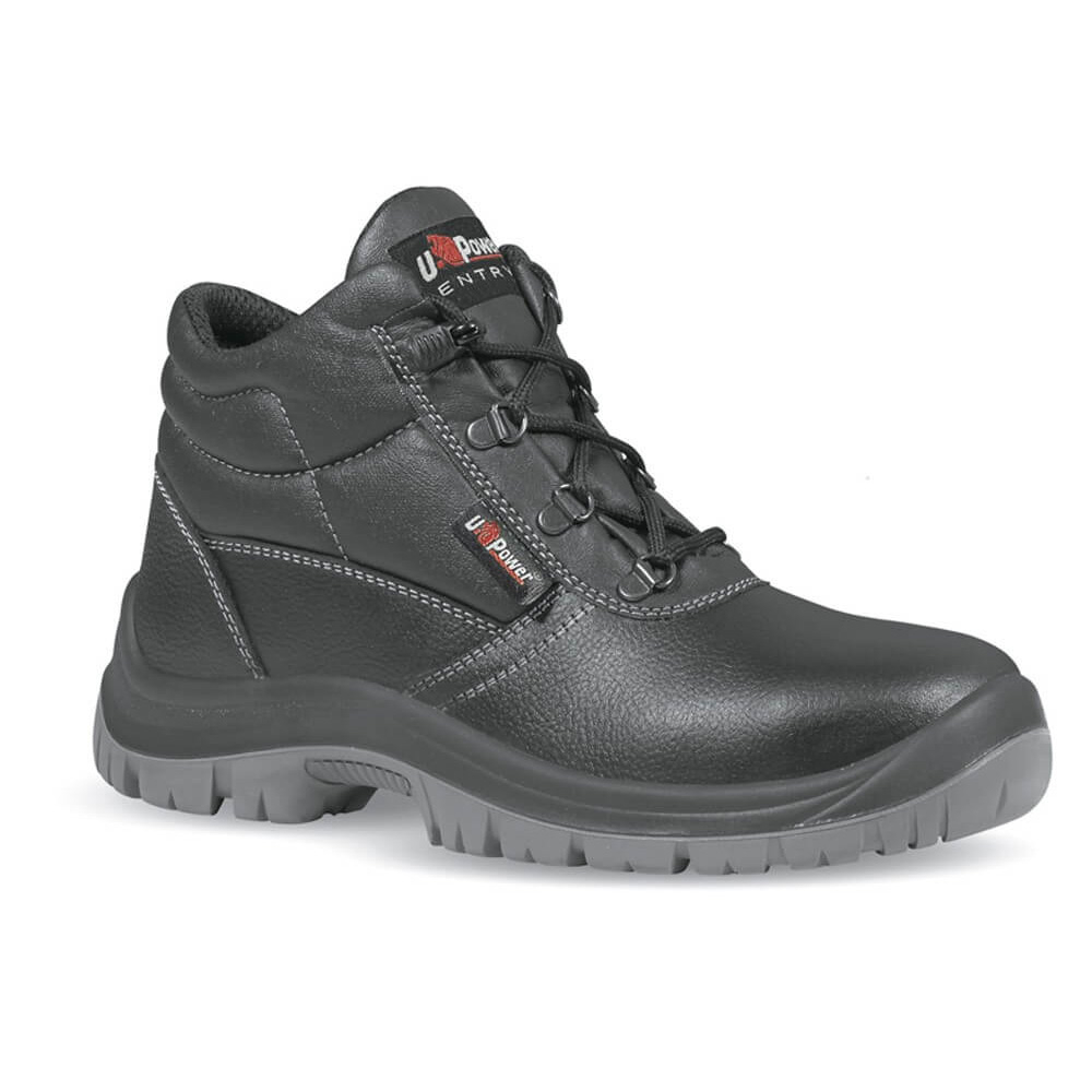 Scarpe antinfortunistiche UPower Safe alte in pelle S3 SRC