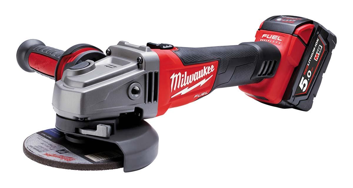 Smerigliatrice Milwaukee M18 CAG125X-502X