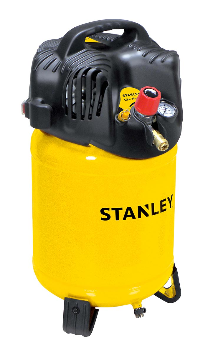 Compressore verticale oilless Stanley D 200/10/24V