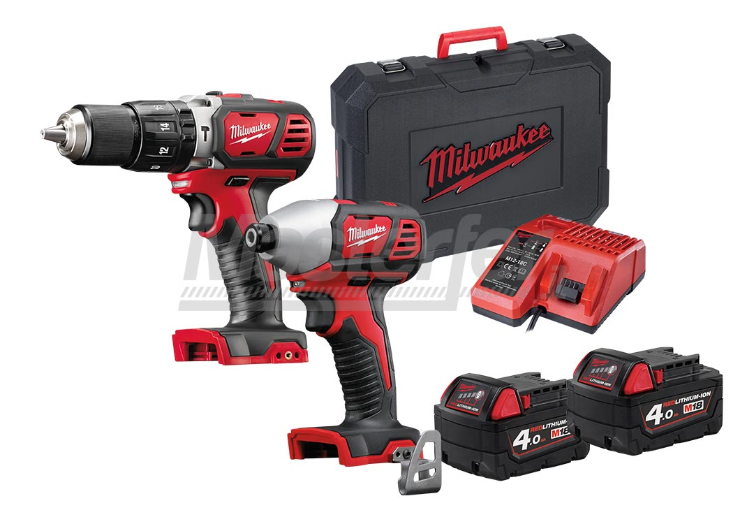 Kit Milwaukee 18V M18 BPP2C-402C